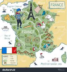 Map Of France And Italy Cartoon Map France Stock Illustration 541723411 Shutterstock