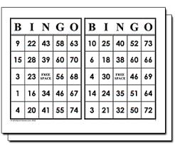 free bingo printable cards printable cards