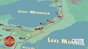 Boston Marathon Course Map by Madison Marathon Full Marathon Animated Course Map Youtube
