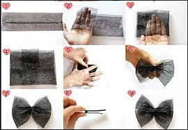 how to make your own hair bows new diy hair bow tutorial android apps on play