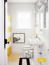 Black White And Yellow Bathroom Ideas 86 Best Bathroom Images On Pinterest Bathroom Closet Bathroom