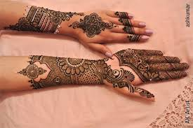 style mehndi designs for bridal eid stylish