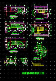 Villa Stairs Design Villa Staircase Design Cad Drawings Autocad Drawing Autocad Dwg