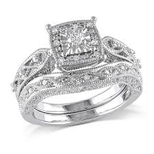 kay jewelers promo code 1 5 ctw diamond bridal set ring in sterling silver samuels jewelers