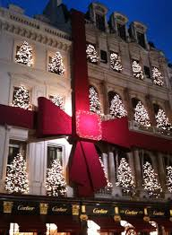 Christmas Window Decorations In Nyc by Cartier All Wrapped Up With A Bow But Lets Not Overlook The