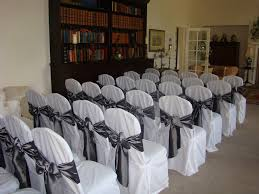silver chair covers wedding chair cover hire
