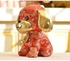new year toys toys 2018 dog year mascot 23cm 30cm stuffed dolls new year