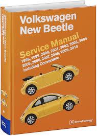 volkswagen new beetle service manual 1998 1999 2000 2001 2002