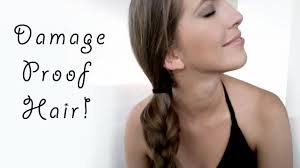 easy to keep hair styles damage proof hairstyles for growing long healthy hair youtube