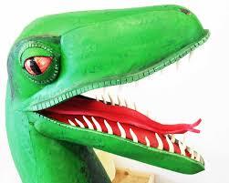 Mask Of Halloween 12 Masks Of Halloween 3 Velociraptor Dinosaur Mask