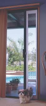 Vinyl Pet Patio Door Sliding Door Insert Large For Glass With Patio Panel