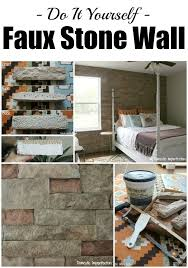 How To Install Thin Brick On Interior Walls Best 25 Faux Stone Panels Ideas On Pinterest Faux Stone Walls