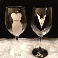 best 25 wedding wine glasses ideas on diy wine - Wine Glasses For Wedding
