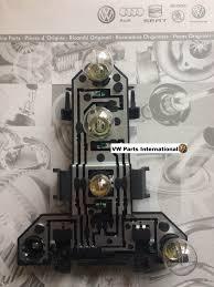 vw golf mk4 r32 gti r tdi rear tail light bulb holder u0026 bulbs