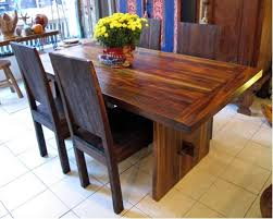 Teak Dining Room Furniture Reclaimed Teak Dining Tables