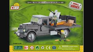 opel blitz with flak 38 cobi small army wwii 2468 opel blitz 3t 4x2 with flak 38 2 cm