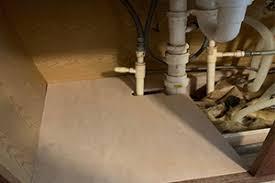 sink kitchen cabinet base repair we repair water damaged sink base cabinet floor