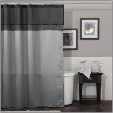 Black Grey And White Shower Curtain Grey And White Vertical Stripes Shower Curtain By Gifts Classic