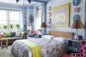 Bedroom Design Elle Decor Best Blue Bedrooms Blue Room Ideas