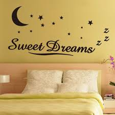 online get cheap wall stickers kids sweet dream aliexpress com sweet dreams new english proverbs wall stickers art quotes pvc for kids room bedroom living room home decor wedding gift