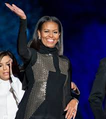 ms obamas hair new cut michelle obama short lob haircut december 2016 stylecaster