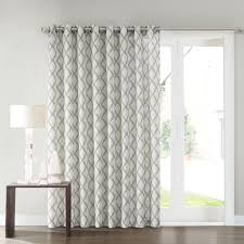 window treatments for kitchen sliding glass doors sonoma goods for life dallon patio door curtain 100 u0027 u0027 x 84