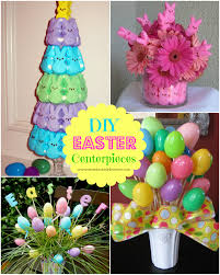 Easter Vase Decorations by Diy Easter Centerpieces U2013 A To Zebra Celebrations