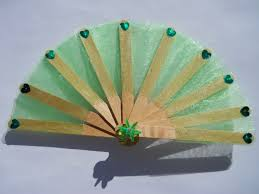 fan sticks popsicle stick fan whee s