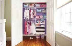 how do you organize a small closet back wall 3ft 8inches both