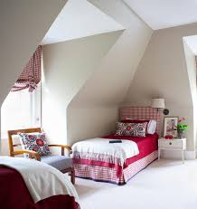 Attic Bedroom Ideas by Kids In The Attic Sweet Red And White Scandinavian Style U0027s