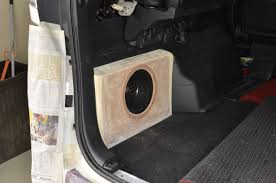 compact subwoofer box progress www cartens audio com car