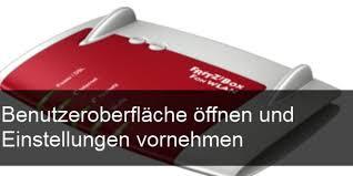 fritz repeater benutzeroberfläche fritzbox benutzeroberfläche öffnen und einstellungen vornehmen giga