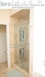 fiberglass shower doors shower with a semi frameless maine