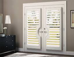Wooden Exterior French Doors by Wooden Shutters For French Doors Home Interior Design
