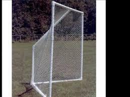 diy lacrosse goal deluxe pvc lacrosse goals youtube