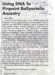 targeted recruiting for dna testing english origenes use family
