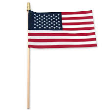 Flag Manufacturers Amazon Com Online Stores Usa Stick Flag With Spear Tip 4 By 6