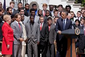 crimson tide rolls into the white house whitehouse gov