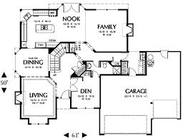 prairie style house plan 3 beds 3 baths 2523 sq ft plan 48 443