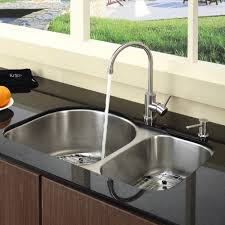 Unclogging A Kitchen Sink With Baking Soda And Vinegar How To Unclog A Double Kitchen Sink With Baking Soda And Vinegar