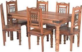 indian wood dining table jodhpur handicrafts indian handicrafts artisans wooden furnitue