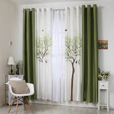 how to make the interior brighter with the help of curtains the