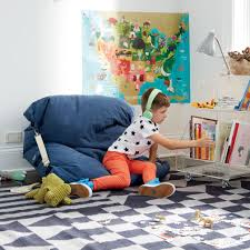Big Joe Kids Lumin Bean Bag Chair Adjustable Blue Bean Bag Chair Blue Bean Bags Bean Bag Chair