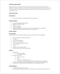 federal resume example 7 samples in word pdf