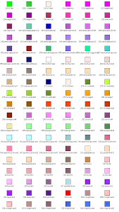 Weirdest Color Names by Paint Color Names