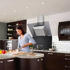 range hood with led lights luxair la 90 dline 90cm angled kitchen range hood with led lights