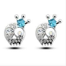 skull stud earrings beautiful skull stud earrings pluto99