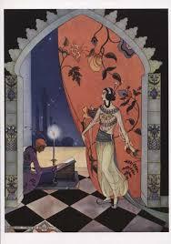 virginia sterrett arabian nights boxed cards bookman