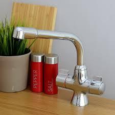 enki modern swivel spout kitchen taps sink mixer monobloc compact