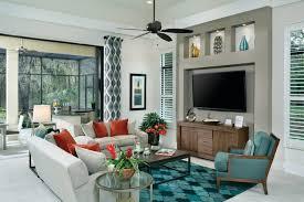 Home Interior Decorating - Model homes interiors